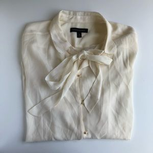 Banana Republic Cream Blouse